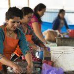 Puur Nepal werkplaats viltpantoffel 2 Texelse Schapenboet