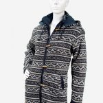 Schapenwollen vest multi design